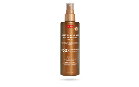 Multifunction Sunscreen Milk Spray SPF 30 (200 ml) - PUPA Milano