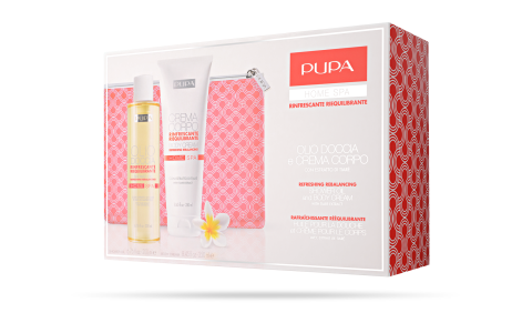 Shower Oil and Body Cream Refreshing Rebalancing - PUPA Milano