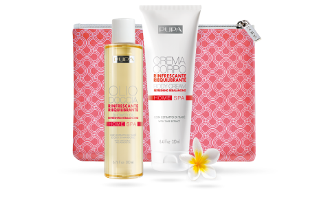 Shower Oil and Body Cream Refreshing Rebalancing