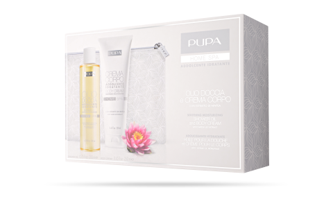 Shower Oil and Body Cream Soothing Moiturizing - PUPA Milano