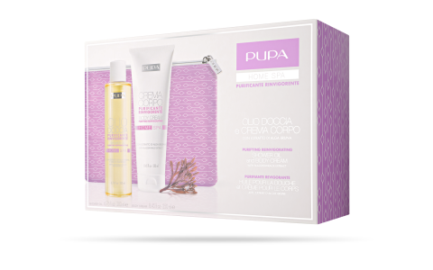 Shower Oil and Body Cream Puriying Reinvigorating - PUPA Milano