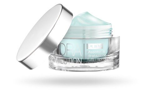 Hydra Revolution Continuous Hydration Mask All Skin Types Face And Neck