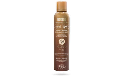 Super Spray Invisible Tanning SPF 6