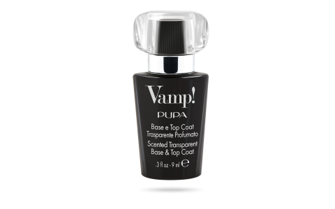 Vamp! Scented Trasparent Base & Top Coat - PUPA Milano