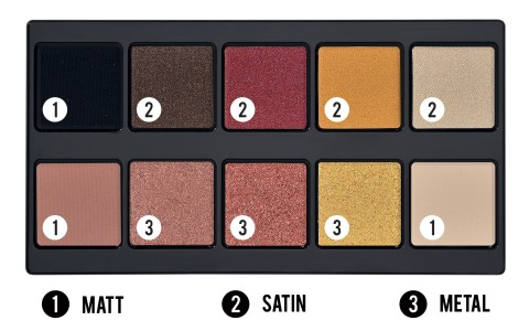 Make Up Stories Palette Hot Flame - PUPA Milano