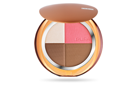 4Sun All in One -  Compact Bronzing Powder + blush + highlighter - PUPA Milano