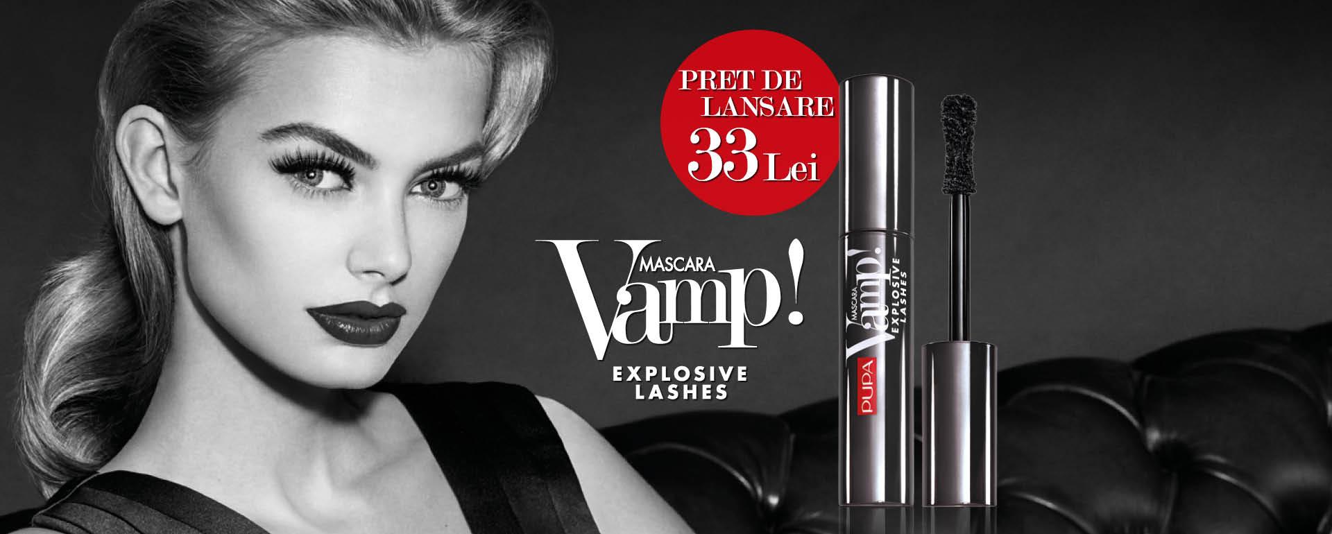Vamp! Explosive Lashes Mascara